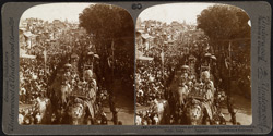 Marvels of richness and grandeur - the great Durbar procession, Delhi, India